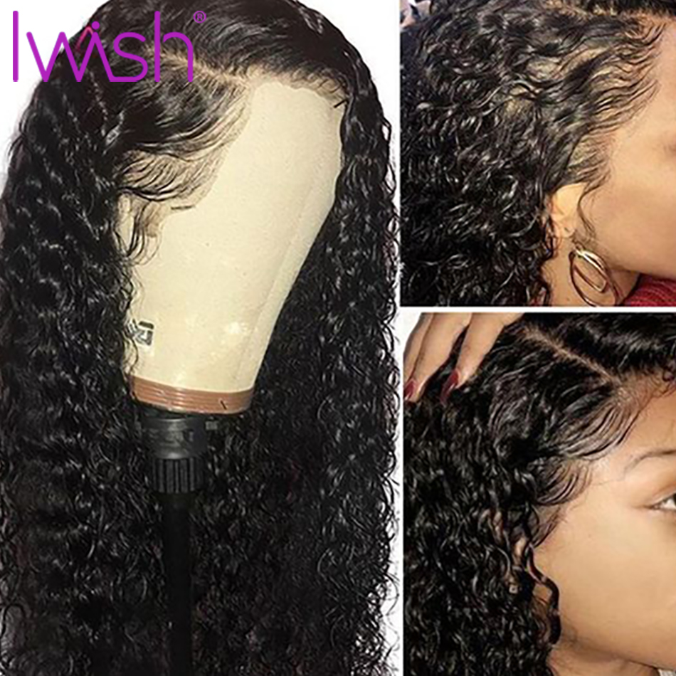 Water Wave Wig 360 Lace Frontal Wig Pre Plucked With Baby Hair Remy Brazilian Glueless Lace