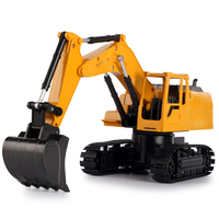 New Crawler Excavator Wireless Control Truck Clasps Car Mechanical And Electrical Toy Model Plastic Remote Controller