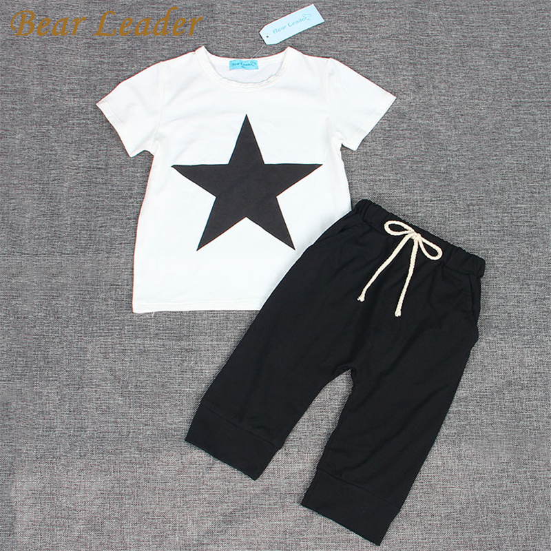 Bear-Leader-Baby-Clothing-Sets-2016-Summer-Style-Baby-Girls-Boys-Clothes-Black-Letter-T-shirtImitation-cowboy-pants-2pcs-suit-4
