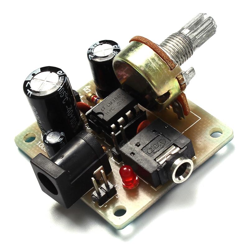 LM386 Super MINI Amplifier Board DIY Amplifier Kit 3V 12V ...
