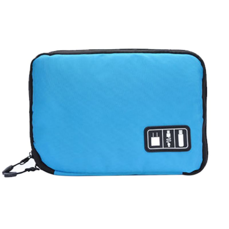 Good! Outdoor Data Earphone Cable Bag USB Flash Drives Case Digital Storage Pouch Sports Hiking Camping Travel Kits im