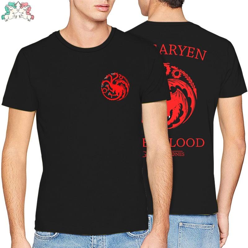 Game of Thrones Diagonal Sigil Mens Black T-Shirt Homme