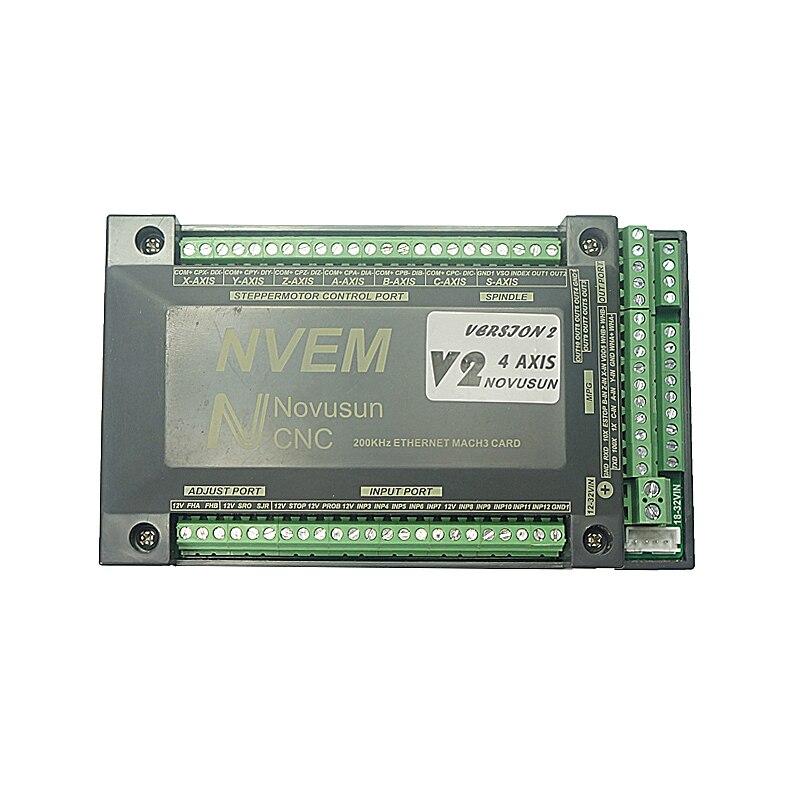 Ethernet Mach3 Karte 3 4 5 6 Achse CNC Router Fräsen Maschine steuer karte