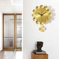 Vintage Modern Minimalist Art Quartz Clock Creativity Modern Living Room Bedroom Wall Digital Clock Wall Watches Decor WZH194