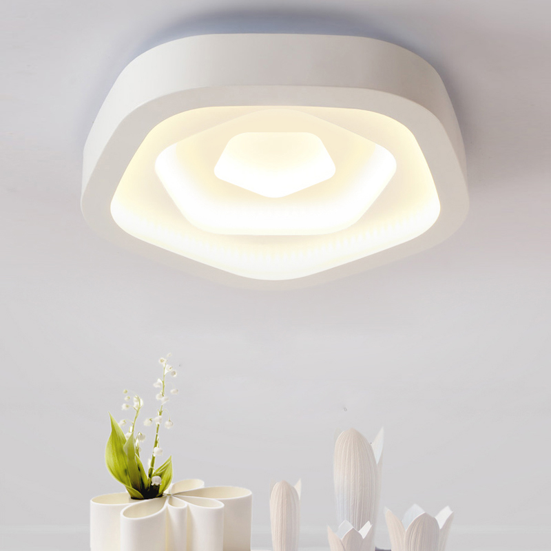 2017 NEW flower LED flush mounted ceiling lamp bed room ceiling light 110V 220V home decoration lighting fixture free shipping