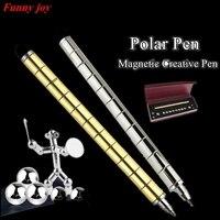 Magnet Magic Pen Toy Antistress Fidget Hand Finger Spinner As LIZUN Function Spinning Toy Stress Wheel
