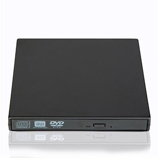 [Navio do Armazém Local] USB 2.0 CD/DVD-RW Burner Drive Óptico Externo Portátil DVD ROM Player Gravador para o Computador Portátil