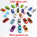 1:64 alloy cars,mini pocket car model,metal diecasts,toy vehicles,multi-style,sliding toys,advanced alloy  Cars,free shipping