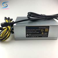 Free Ship 1800W 12V Psu Miner Mining Power Supply For A6 A7 S5 S7 S9 B3