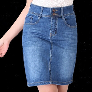 Popular Women's Jeans Skirt-Buy Cheap Women's Jeans Skirt ...