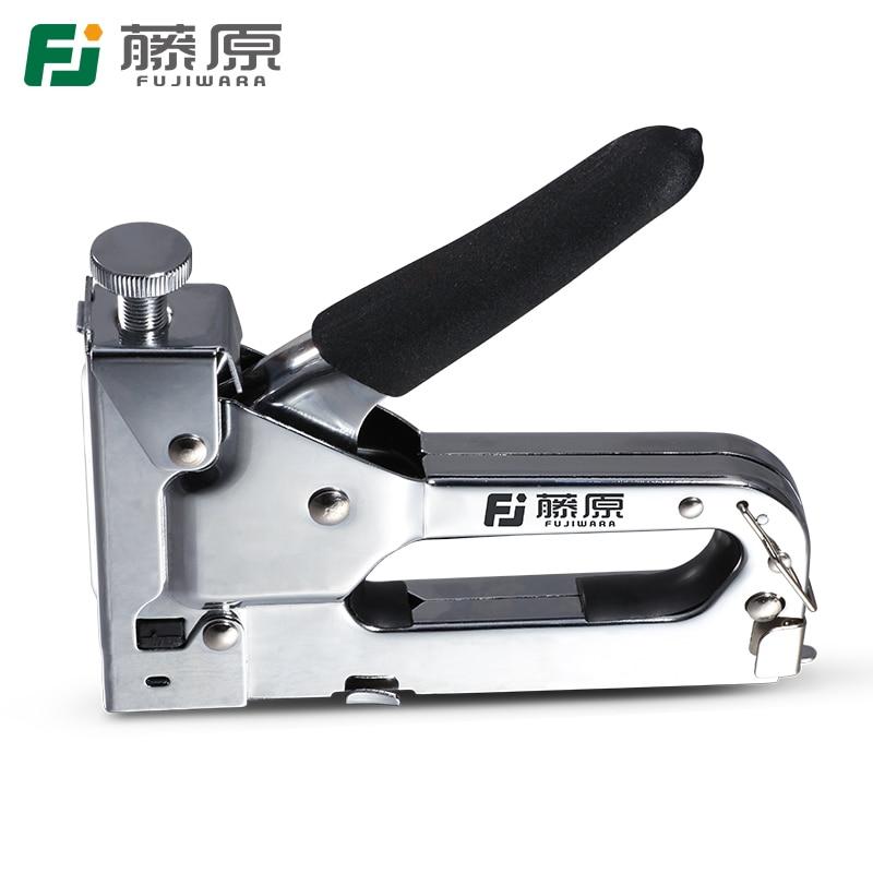 FUJIWARA Capsator de unghii Manual pistol de unghii Pistolet de - Scule electrice - Fotografie 4