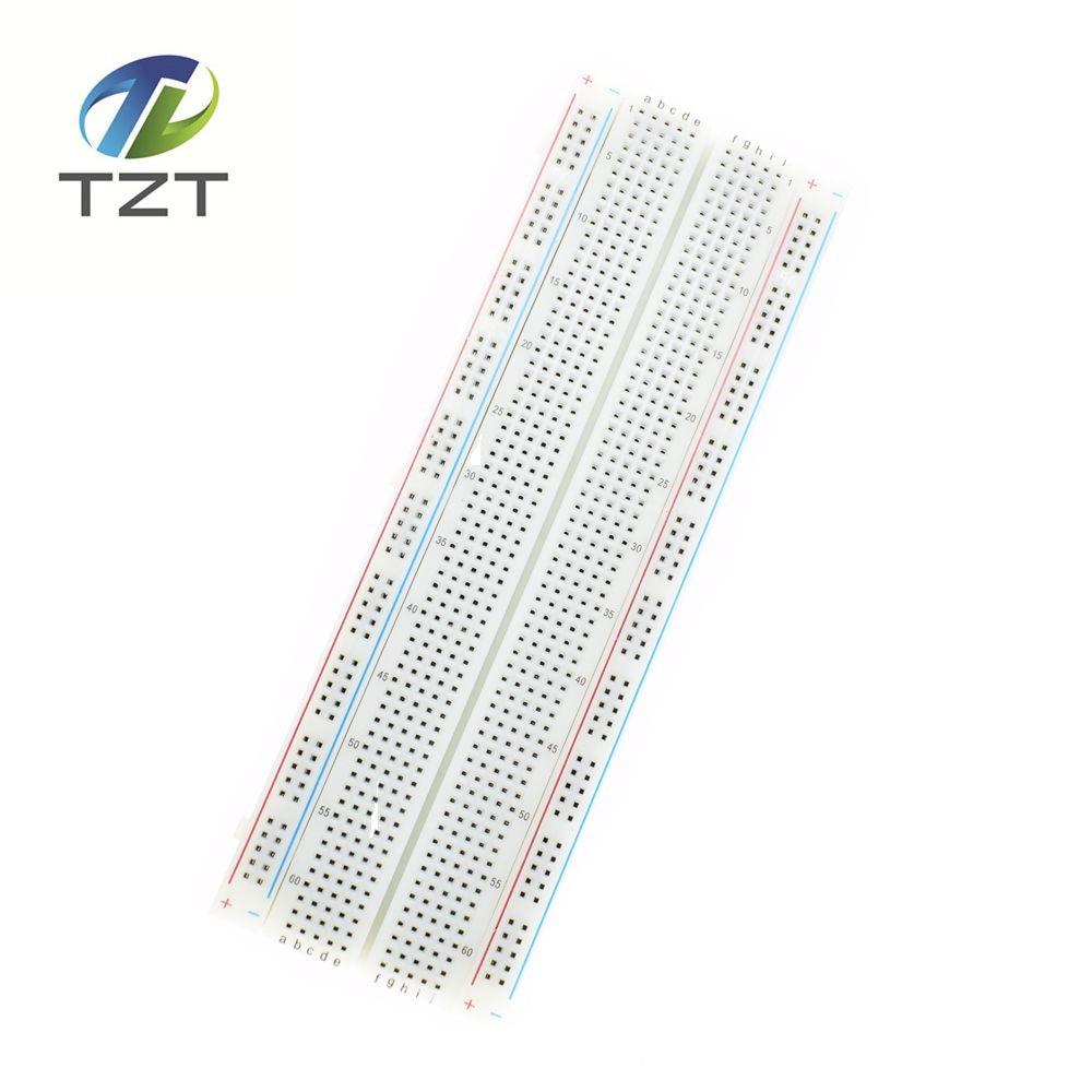 breadboard 830 point solderless pcb bread board mb 102 mb102 test