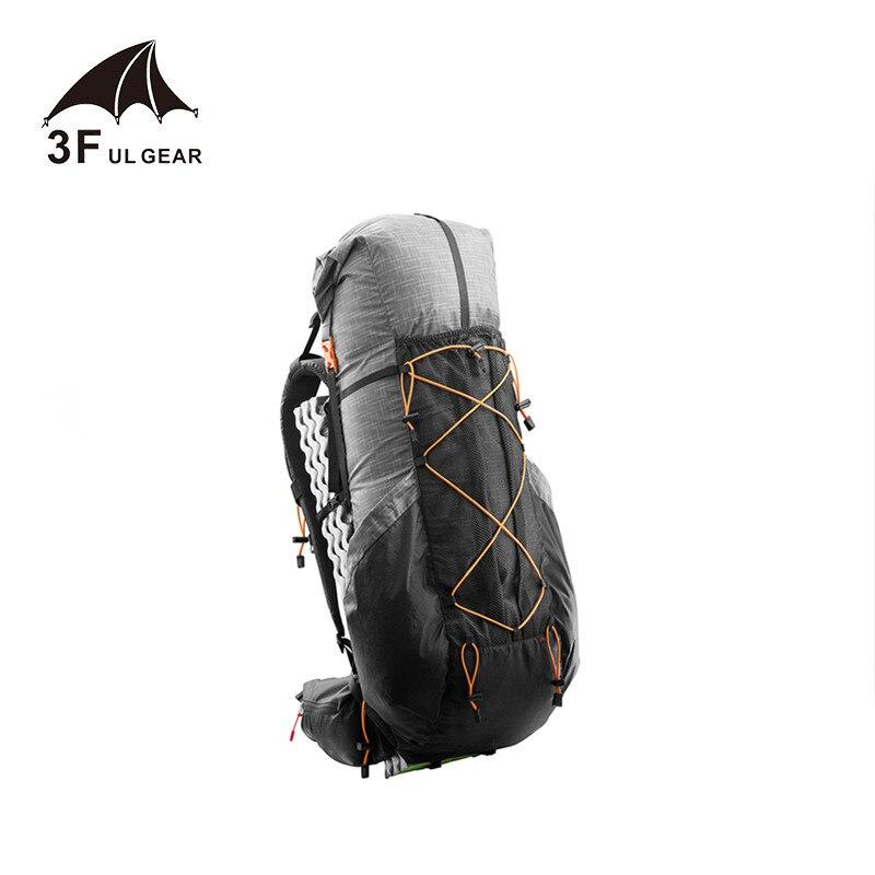 3F UL VITESSE résistant à L'eau sac à dos de randonnée Léger Camping Pack Voyage Alpinisme Randonnée sacs à dos de trekking 40 + 16L
