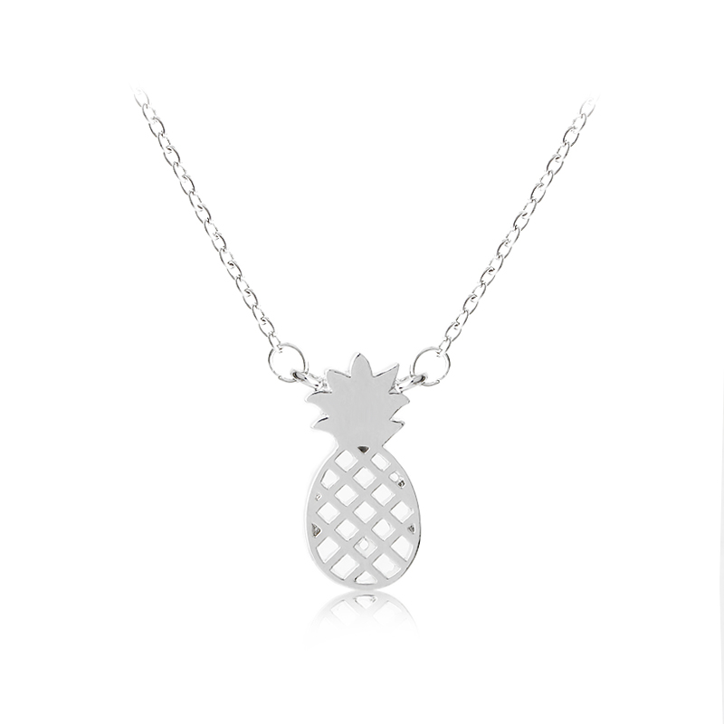 Pineapple Necklace Friendship Pendant Necklace & Reminder of Your Perfect Tropical Vacation