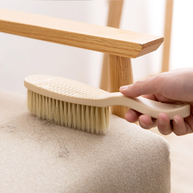Soft Bristle Brush Sofa Dusting Long Handle Sweep Bed Home Broom Hair