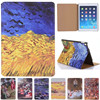 For Ipad Pro 9 7inch Vincent Van Gogh Starry Sky Oil Painting For Apple Ipad Air