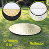 High Quality 32inch 80cm 5 In 1 New Portable Collapsible Light Round Photography Photo Reflector For