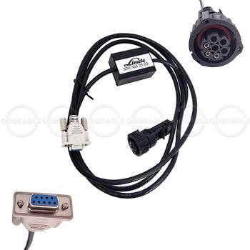 Do ciężarówek interfejs diagnostyczny narzędzie wózek widłowy Linde silnik do ciężarówek kabel diagnostyczny 3003652503 linii Adapter usługi linde 3003652503 tanie i dobre opinie Kable Adaptery i gniazda plastic 10*10*10 24 v diagnostic ODMCABLE Inne Linde forklift truck Engine Diagnostic Cable 3003652503