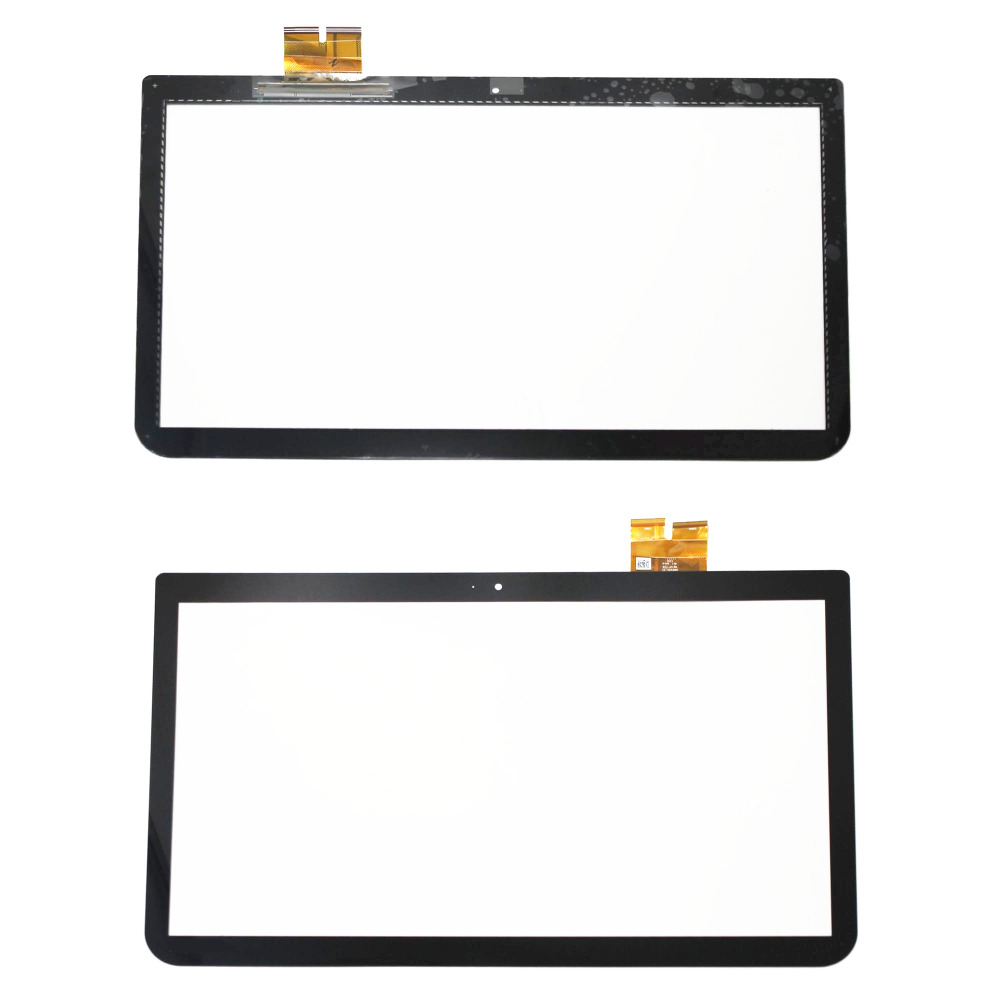 New Touch Panel Screen Digitizer Glass Lens Replacement 15.6'' For Toshiba Satellite E50t-A E55t-A Series E55t-A5320 E55t-A511 new for toshiba satellite e55 a e55 a5114 e55t a e55t a5320 lcd lvds laptop screen display video cable dc02001wu00
