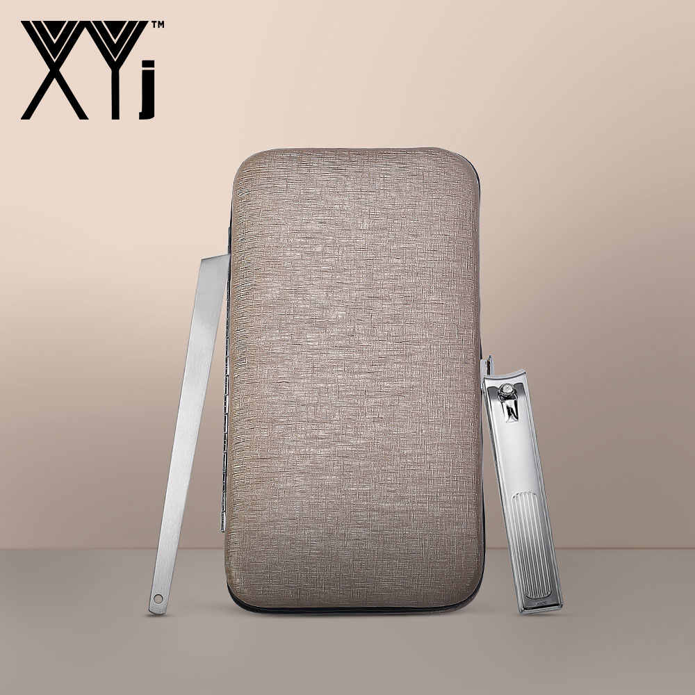 XYj Rvs Nail Art Gereedschap Set Nail Clipper Kit Manicure Set Schoonheid gereedschap Pincet Schaar Oor Pick Pedicure Mes sets