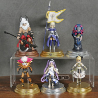 Fate/Grand Order Duel Saber Lancer Ruler Archer Caster Collection Figures Model Toys 6pcs/set
