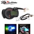 ENVÍO GRATIS 2016-2017 15000 rpm moderna RX2N similar LCD digital del velocímetro del odómetro de La Motocicleta ajustable MAX 299 KM/H