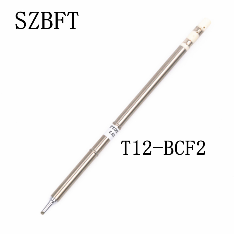 SZBFT T12-BCF2 BCF1 BCF3 BCF1Z BCF3Z BC2 Soldering Iron Tips For Hakko Soldering Rework Station FX-951 FX-952 Free Shipping