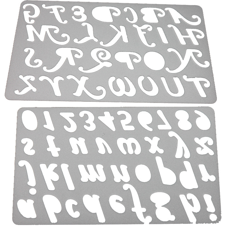 Crafts Metal Alphabet Letters /& Numbers Die Cutter