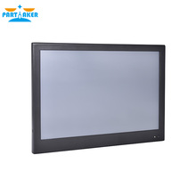Partaker Z9 13.3 Inch Touch Screen Computer Desktop With Intel Quad Core J1900 4G RAM 64G SSD 1u rack enclosure j1900 intel bay trail 2 0ghz 32g ssd 2g ram industrial panel computer low power high performance lbox j1900