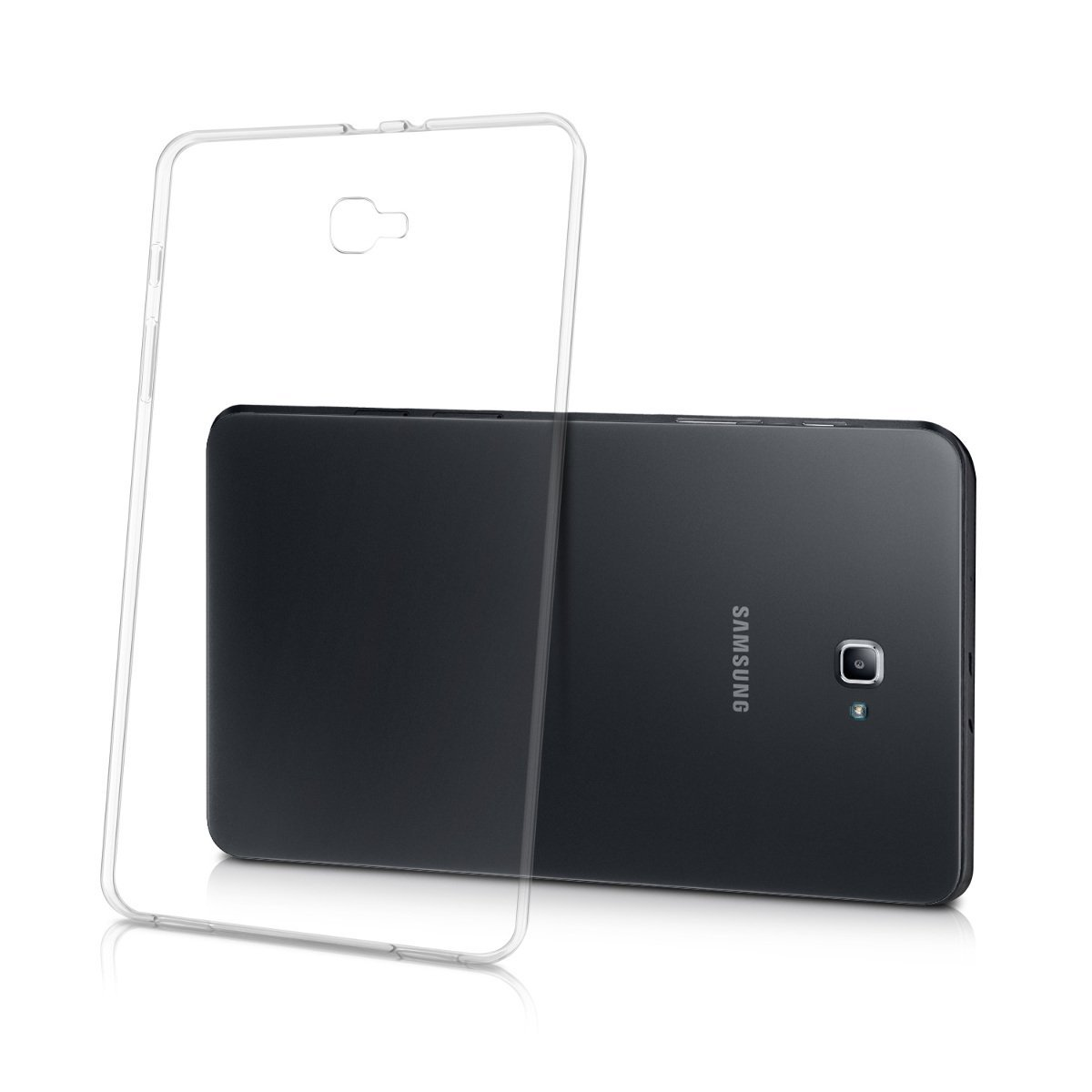 Crystal Case Soft Cover for Samsung Galaxy Tab A A6 10.1 2016 Case TPU Silicone Cover T580 T585 SM-T580 T585 Transparent Case flip cover pu leather case for samsung galaxy tab a a6 10 1 2016 t580 t585 sm t585 tablet case blue soft tpu back