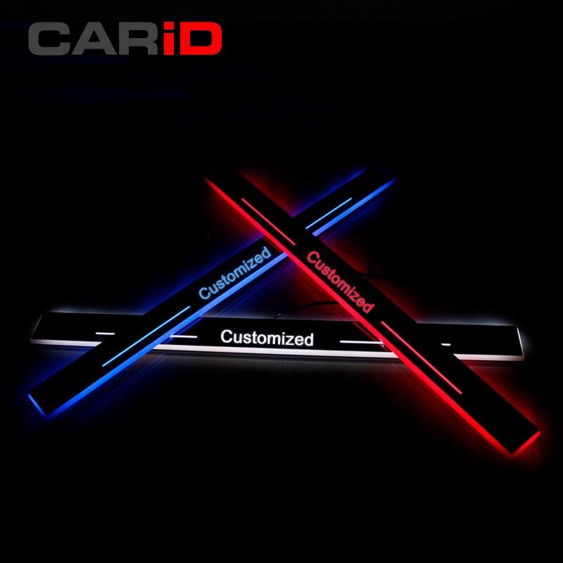 CARiD отделки педали светодио дный автомобиля свет порога Накладка путь динамический стример подсветка в дверь для Lexus IS200 IS250 IS300h 2013 -15