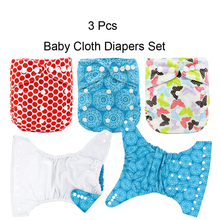 MABOJ Baby Cloth Diaper Unisex One Size Pocket Cloth Diaper Washable Waterproof Leakproof with Back Opening Resuable Wholesale