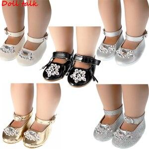 DollTalk 2019 nowa kolekcja kryształowe buty dla lalek buty dla 18 Cal BJD zabawki Mini buty dla lalek dla Sharon buty dla lalek lalki akcesoria