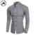 Hombres de la Camisa de Las Mancuernas Francés 2016 Nuevos hombres Camisa de Manga Larga Ocasional hombre Marca Camisas Slim Fit Vestido Camisas de Puño Francés Para Los Hombres