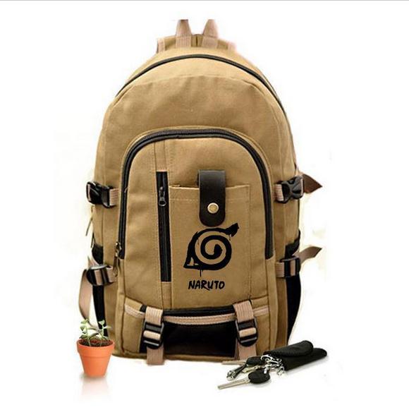 Naruto: Hokage Ninja School Canvas Backpacks
