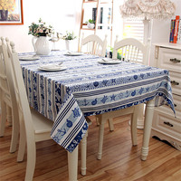 2017 New Arrival Ocean Pattern Printed Table Cloth High Quality Tablecloth Table Cover manteles para mesa Free Shipping