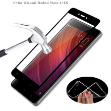 MPCQC Xiaomi Redmi Notice four 2.5D 9H HD tempered full cowl tempered glass For Xiaomi Redmi Notice 4X display protector glass Movie