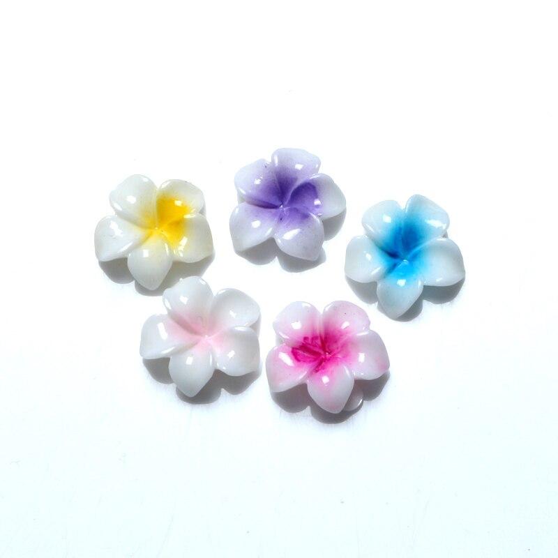 LF Mixed Resin Flower Decoration Crafts Beads Flatback Cabochon Scrapbooking DIY Embellishments Kawaii Diy Accessories 30PCS