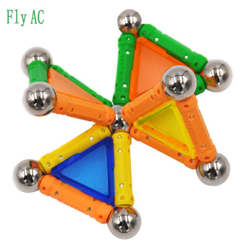 Fly AC 49 pcs/set Three Dimensional Magnetic Designer Rods  Material Magnetic Blocks Educational Toys for children Birthday gift modeling and design of a three dimensional inductor with magnetic core