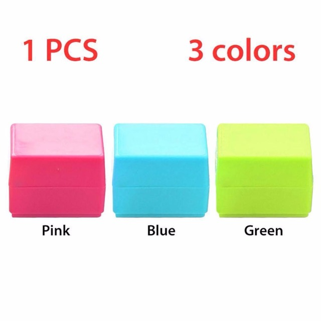 3 Colors Safe Roller Stamper Identity Theft Protection Security Stamp Seal Self Guard ID 4