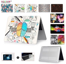 Picture Case For Apple Macbook Air 13 Case Pro Retina 11.6 12 13.3 15.4 inch With Touch bar Laptop Bag A1466 A1502 A1706 A1708 цена и фото