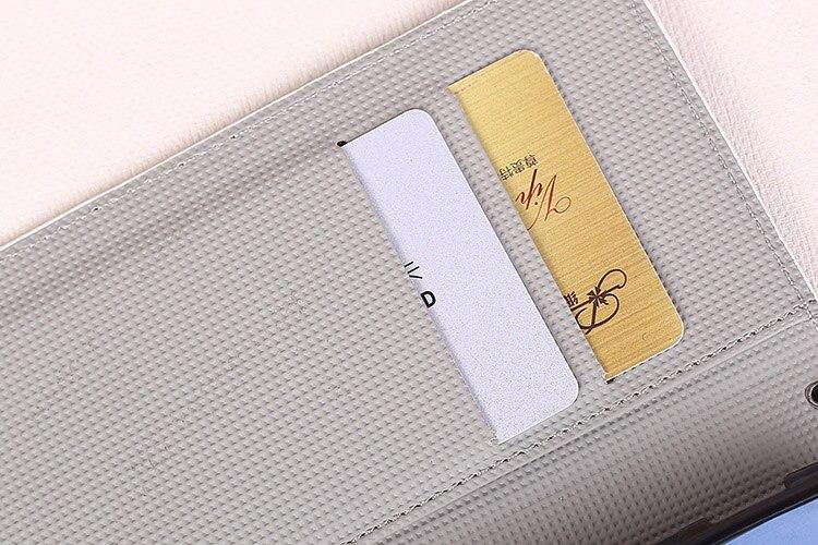 Para Bq BQ-5340 opción patrones de pintura stand Wallet pu fundas de ...