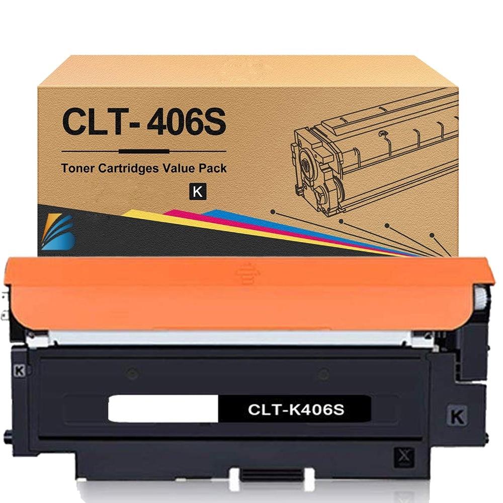Нова версия CLT-406S Тонер касети CLT-K406S - Офис електроника - Снимка 1