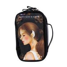 4 Pattern Sweet Doll Handheld Toiletry Bag Cosmetic Bag Traveling Case Makeup Bag Portable Worldwide sale