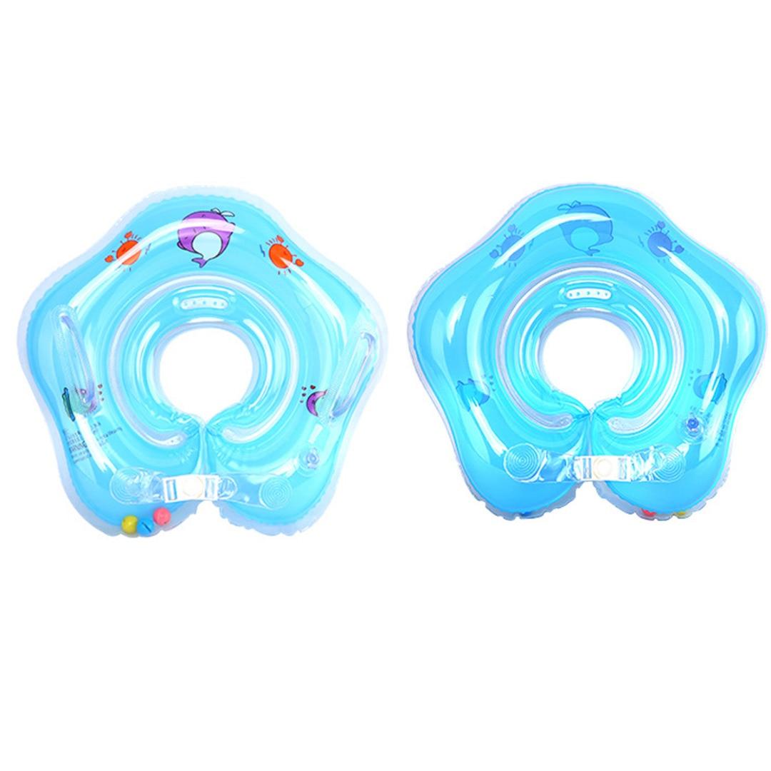 2017 bambino neonato gonfiabile nuoto collo galleggiante cerchio anello ambientale pvc-6059