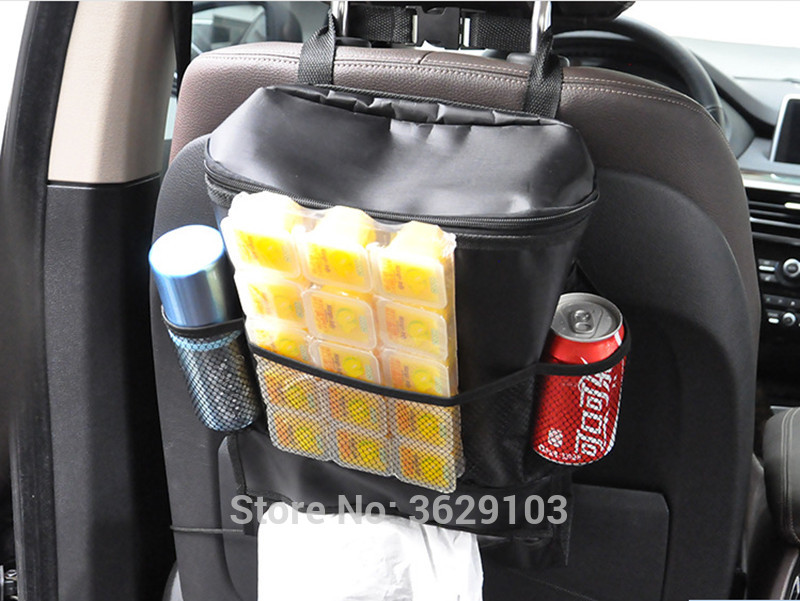 Universal Car Seat Tidying Bags Car Hanging Storage Bag accessories styling for Land Rover discovery freelander defender a9 a8