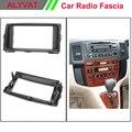 Автомобильная Радио Рамка фасции панель для TOYOTA Corolla Spacio 2001-2007 стерео тире Facia отделка объемного CD Установка комплект