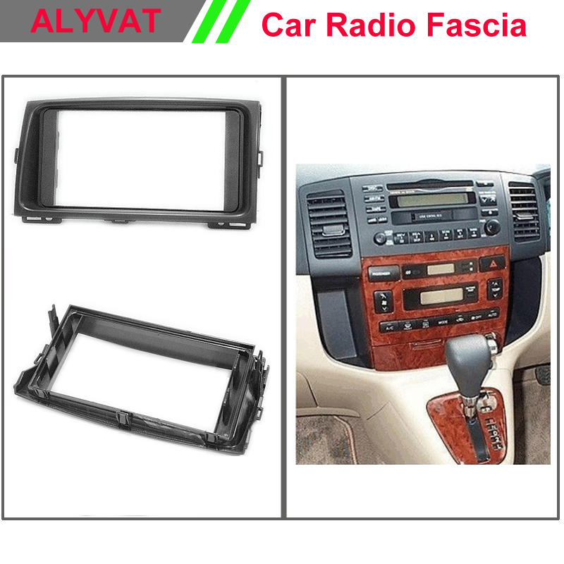 Car Radio Frame Fascia Panel for TOYOTA Corolla Spacio 2001-2007 Stereo Dash Facia Trim Surround CD Installation Kit car radio dvd cd fascia panel for faw oley 2012 stereo dash facia trim surround cd installation kit