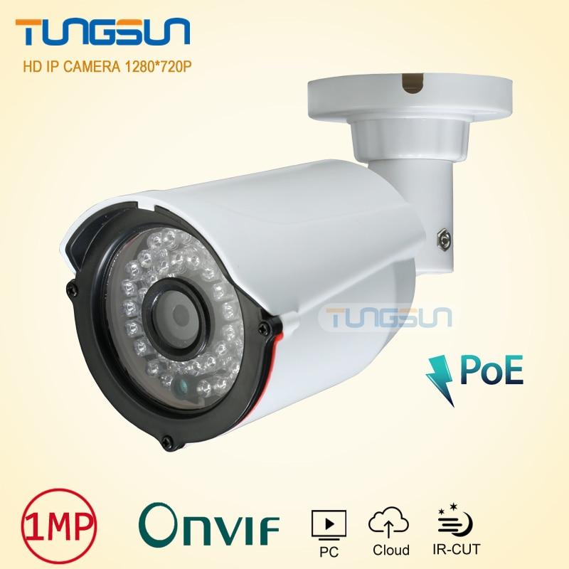 New Arrival 720P 960P IP Camera poe 48v CCTV 36 infrared Bullet Outdoor Security Camera Network Onvif P2P Surveillance Camera