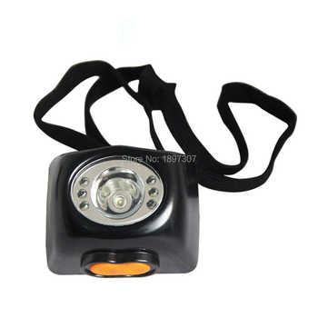 3W LED LED 18HOURS 4500-10000LUX USA CREE headlamp cordless mining head light+ FREE SHIPPING